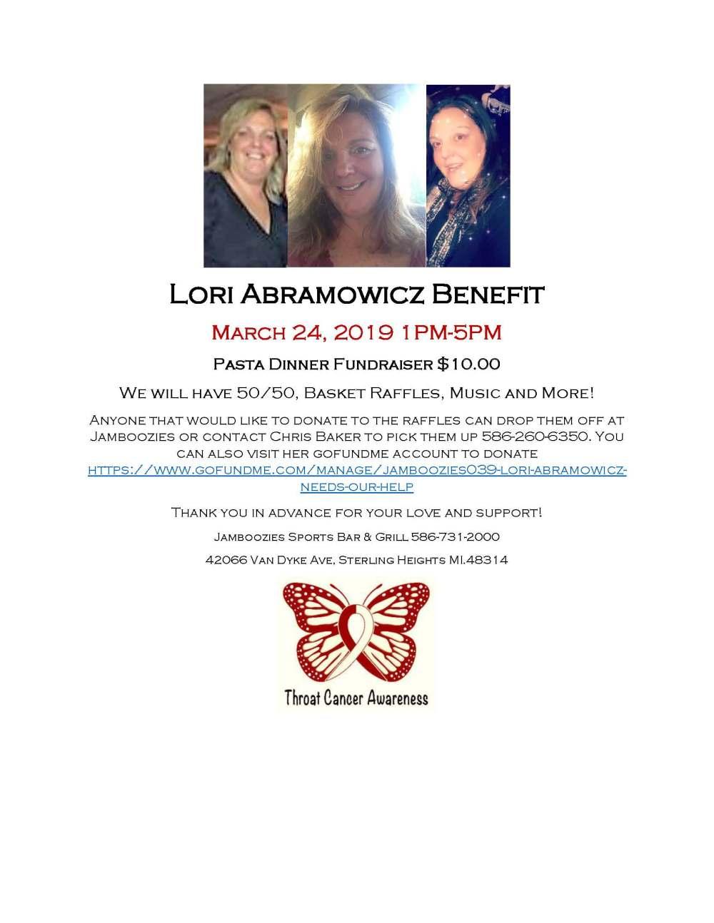 Lori Abramowicz Benefit 1